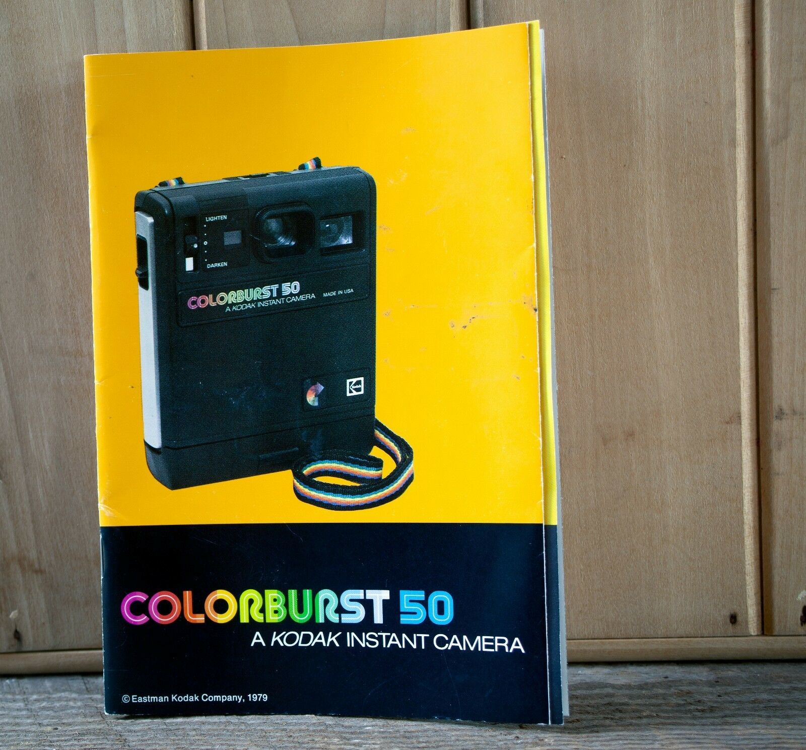 Primary image for Kodak Colorburst 50 Instruction Manual Photography Booklet