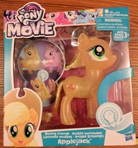 My Little Pony the Movie Applejack Shining Friends Light Up NEW - $18.00