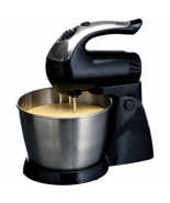 Brentwood 5-Speed Stand Mixer Stainless Steel Bowl 200W Black - $68.25