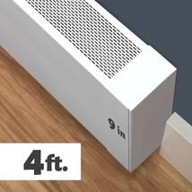 Atlas XL Aluminum Baseboard Cover - 4ft - $107.99