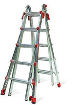 Little Giant 22-Foot Velocity Multi-Use Ladder, 300-Pound Duty Rating, 1... - $213.71
