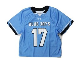 Under Armour Blue Jays Short Sleeve Lacrosse Gametime Jersey Boy's M Blu... - $28.70