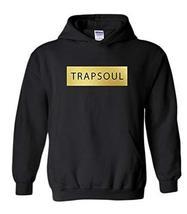 CC Bryson Tiller Trapsoul Hoodie Black (Gold Print) - $29.99