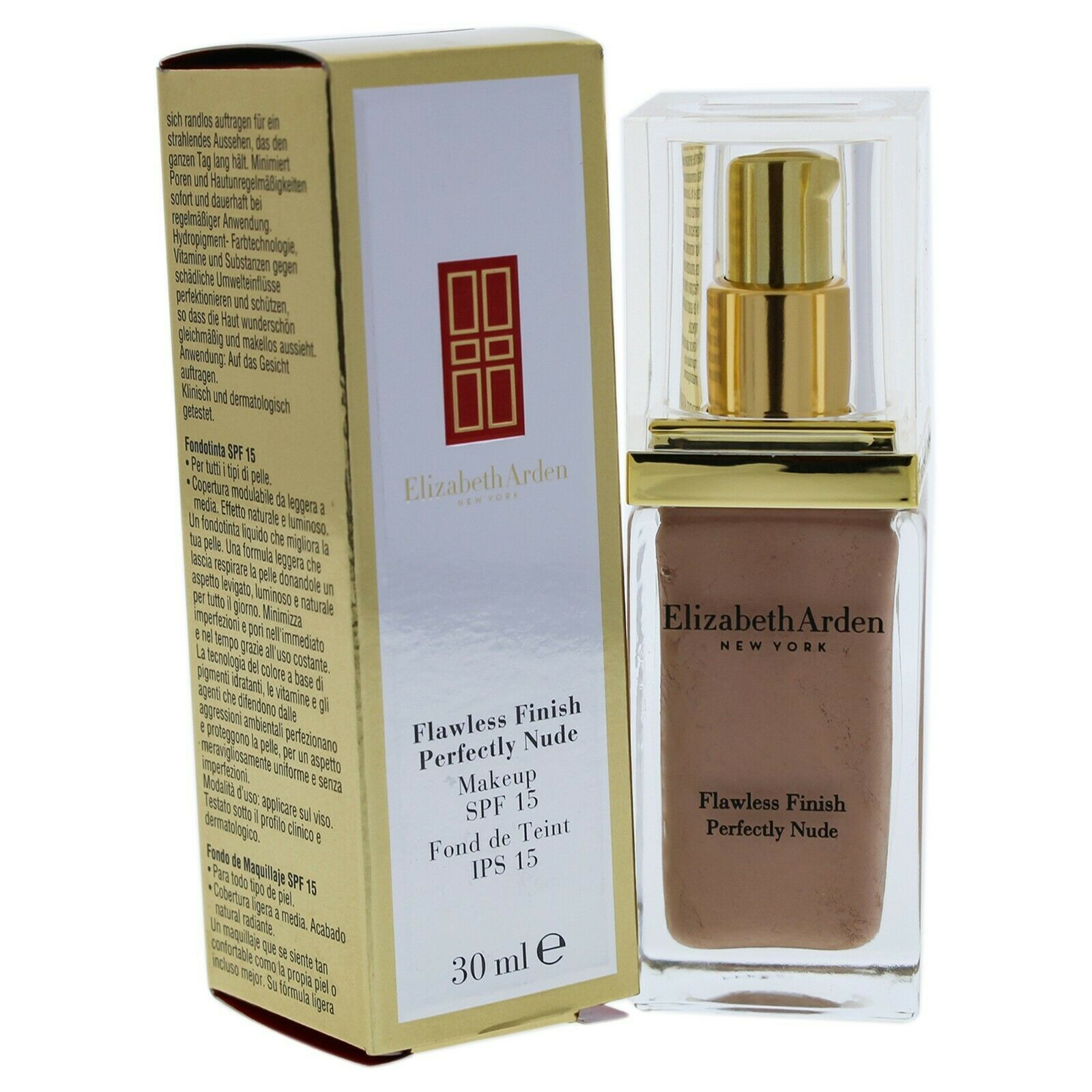 Primary image for Flawless Finish Perfectly Nude SPF 15 by Elizabeth Arden - 14 Cameo
