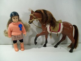 LORI FELICIA 6' MINI EQUESTRIAN DOLL WITH AMERICAN QUARTER HORSE FIGURE ... - $28.37