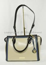 NWT Brahmin Schooner Smooth Leather Satchel/Shoulder Bag in Sand Westport image 2