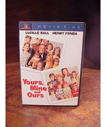 1968 Yours, Mine and Ours DVD, used, with Lucille Ball and Henry Fonda, ... - $7.95