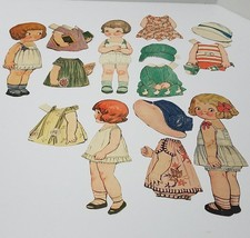 Vintage Grace Drayton, Dolly Dingle and Friends Paper Dolls - $12.82