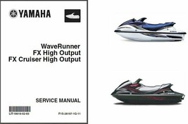 2004-07 Yamaha WaveRunner FX High Output FX Cruiser HO Service Repair Manual CD - $12.99