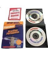 Pimsleur Quick Simple Brazilian Portuguese Language 4 CDs Audiobook Comp... - $16.99