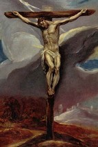 Christ at the cross by El Greco - Art Print - $19.99+