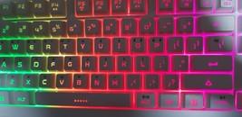 iRocks K10E Korean English Backlight Gaming Keyboard USB Wired Membrane for PC image 2