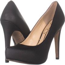 Jessica Simspon Parisah Hidden Platform Heels, Black Snake 309, Black Sn... - $31.67