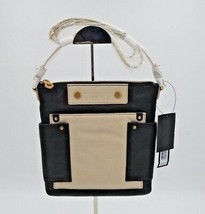 NWT Marc By Marc Jacobs Sia Black Multi Leather Colorblock Crossbody Bag... - $148.00