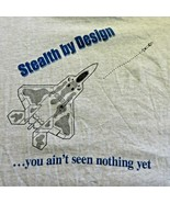 USAF F-22 Raptor Aircraft Stealth By Design First Look Shot Kill TShirt ... - $29.26