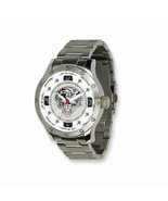 MEN'S ED HARDY BRUTE STAINLESS STEEL WATCH WITH SILVER DIAL & TIGER FACE - $98.85