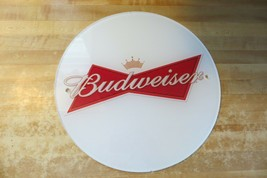 Budweiser Pubblicità Pexiglass Birra Marca Barra o Men Cave Riporre Display Sign - $17.75