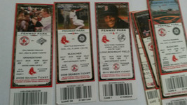 Seven Season Tickets to 2006 to 2010 Boston Red Sox Games - $9.41
