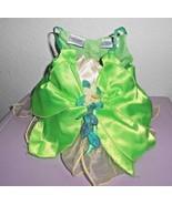Build a Bear Disney Princess Tiana Dress Yellow Green Princess Frog Costume - $15.82
