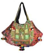 "Big Banjara Bag 16X26"" Vintage Hobo Sling Tote Ethnic Tribal Gypsy FW76 - $55.96"