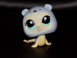 Littlest Pet Shop White Yellow Seal with Blue Eyes and Hat #1030 EUC HTF - $24.36