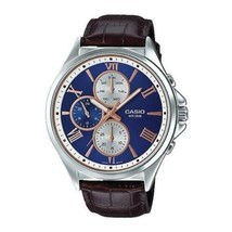 Casio MTP-E316L-2A Men's Standard Analog Leather Band Watch  - $66.00
