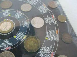 Vintage Sealed 25 World Coins Set Coin Album USA Nepal Sri Lanka Germany Bronze image 4