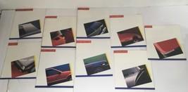 Lot of 9 1986 Sprint Camaro Monte Carlo Chevette Dealership Car Brochure... - $42.70