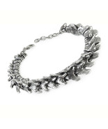 Alchemy of England Vertebrae Spine Bones Gothic Punk Jewelry Pewter Brac... - £46.29 GBP