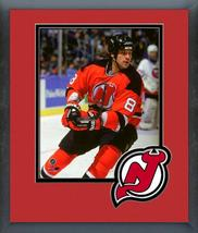Mike Peluso 1994-95 New Jersey Devils -11x14 Team Logo Matted/Framed Photo - $42.95