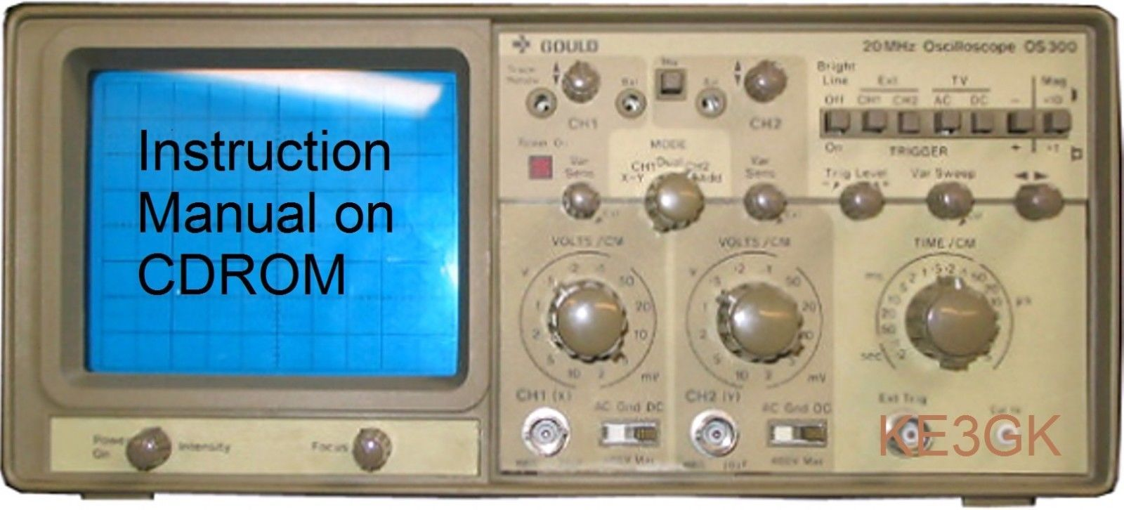 gould os300 20mhz dual trace oscilloscope and 50 similar items rh bonanza com User Manual Clip Art User Guide