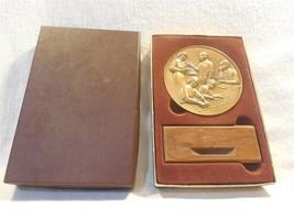 M&M's Employee 5 Year Service Award Bronze Medallion with Holder & Box - $15.95