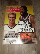 August 22, 1988 Wayne Gretzky and Magic Johnson Sports Illustrated - $2.72