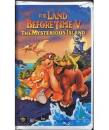 The Land Before Time V: The Mysterious Island (1997) VINTAGE VHS Cassette - $14.84