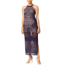 Bar Iii, Women's, Burnout Maxi Dress, Blue Notte, Size Small - €27,41 EUR