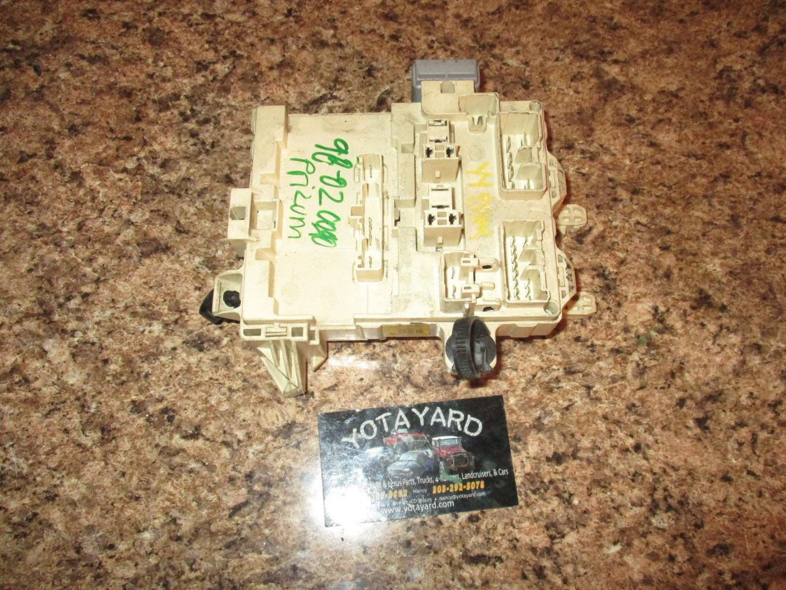 Fuse Box 98 Toyota Corolla Trusted Wiring Diagrams 2004 02 Interior Block And Similar Items