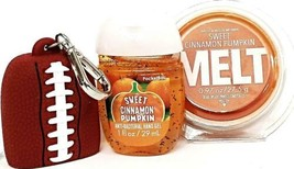 Bath and Body Works Sweet Cinnamon Pumpkin Wax Melt, PocketBac Holder, P... - $20.22