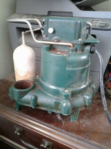 Zoeller pump used