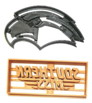 University Of Southern Mississippi Eagles Set Of 2 Cookie Cutter 3D USA ... - $4.99