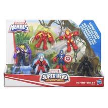 Playskool Heroes Super Hero Adventures Captain America Figure Pack - $34.65