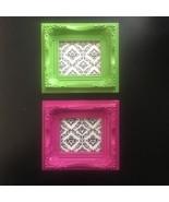 """DAMASK Hobby Lobby Locker / Fridge Magnet Set 5"""" x 4.5"""" Plastic Picture ... - $9.99"""