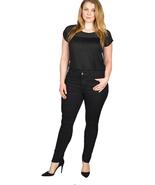 Women's black skinny denim jeans - $15.99