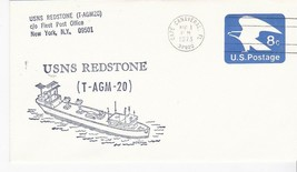 USNS REDSTONE (T-AGM-20) CAPE CANAVERAL FLORIDA AUGUST 1 1973  - $1.98