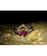 Haunted Female FALLEN ANGEL ARCHANGEL ARCHDEMON Hybrid Rubies Ring by izida - $333.00