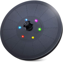 3W Solar Fountain Pump for Bird Bath  with LED Light, 900mAh Battery for... - $33.51