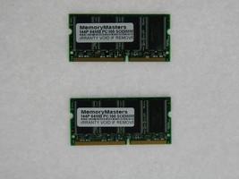 128MB  (2X64MB) MEMORY 8X64 PC100 8NS 3.3V SDRAM 144 PIN SO DIMM