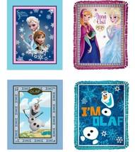 NEW NIP Disney Frozen No Sew Fleece Throw Blanket Kit Olaf Anna Elsa Fun... - $12.99+