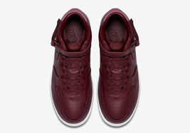 819677 661 NIKELAB MEN NEW MID MAROON AIR 10 WHITE FORCE 1 5 SIZE wxAgqPR