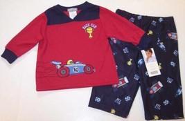NWT Carter's Infant Boy's Race Car Motor Sports Pajamas Pajama Set, 12 Mos. - $9.99