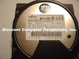"6.4GB 3.5"" IDE 40PIN Hard Drive Fujitsu MPB3064AT Tested Good Free USA Ship"